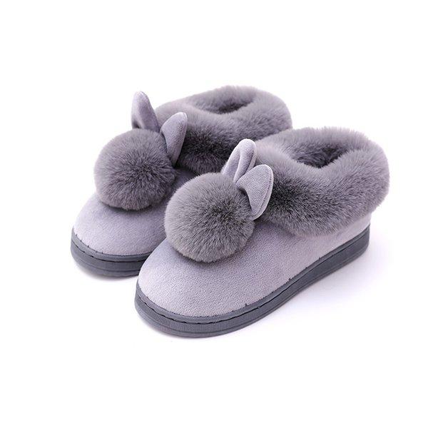Gri pamuk ayakkabı
