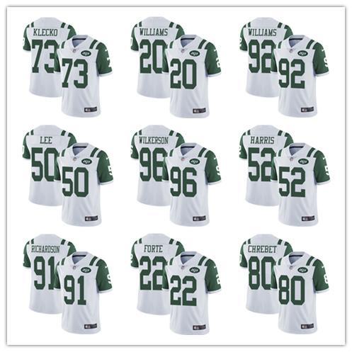 # 14 Sam Darnold 33 Jamal Adams 12 Joe Namath Yeni en iyi York Erkek Jets Jersey Yeşil Beyaz Futbol Jersey Ucuz satış Ücretsiz Kargo