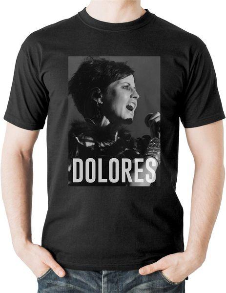 Maglietta Dolores O'Riordan The Cranberries Maglietta Irish Rock Band Linger Zombie Top 4129