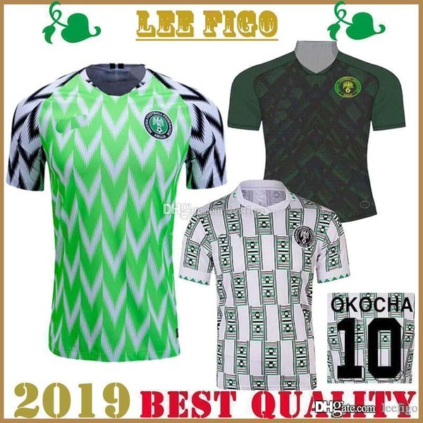 best selling 2019 Africa Cup Nigeria Home Away Soccer jerseys 1994 Retro Nigeria OKOCHA MUSA MIKEL MOSES # Football jersey shirt