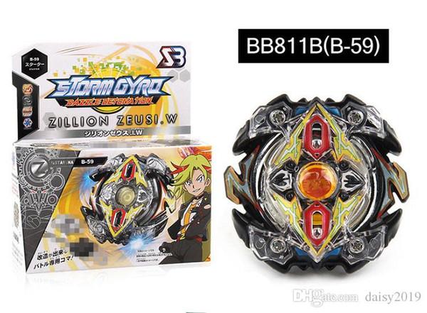 4D Beyblade BB811B Rapidity Metal Speed Spinnin Top Fighting Gyro Starter Set B34 B35 B36 B37 B41 B42 B44 B59 Beyblades Toys for kids