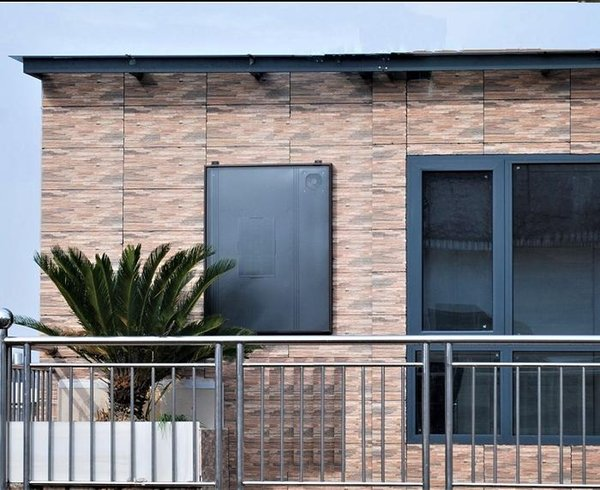Todos los modelos de calentador de aire alimentado por energía solar, OS30 \ OS30B (marrón) Aplicable zona de la sala: 80m2 termostato heaterLCD aire solar para el panel solar,