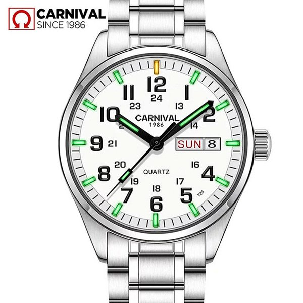 T25 Tritium Gas Luminous Mens Watches 2018 Top Brand Luxury Carnival Military Sport Quartz Wrist Watches For Men Relojes Hombre C19021601
