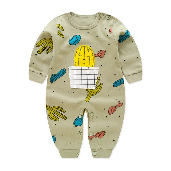 good quality baby boys autumn jumpsuit cotton cartoon outfits infant clothing newborn kids casual sleepwear pajamas bebe clothes
