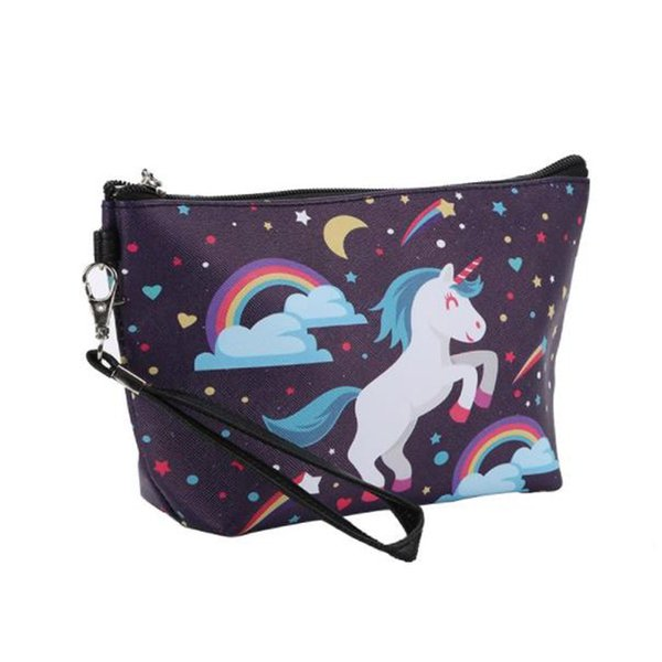 New cosmetic bag makeup bag High Quality Lady Pouch Cosmetic Make Up Bag Clutch Hanging Toiletries Travel Kit free shipping