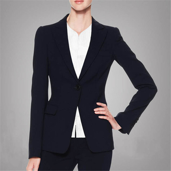 fd120c65f0b High quality women's new autumn and winter fashion women's suit jacket and  pants suit black formal