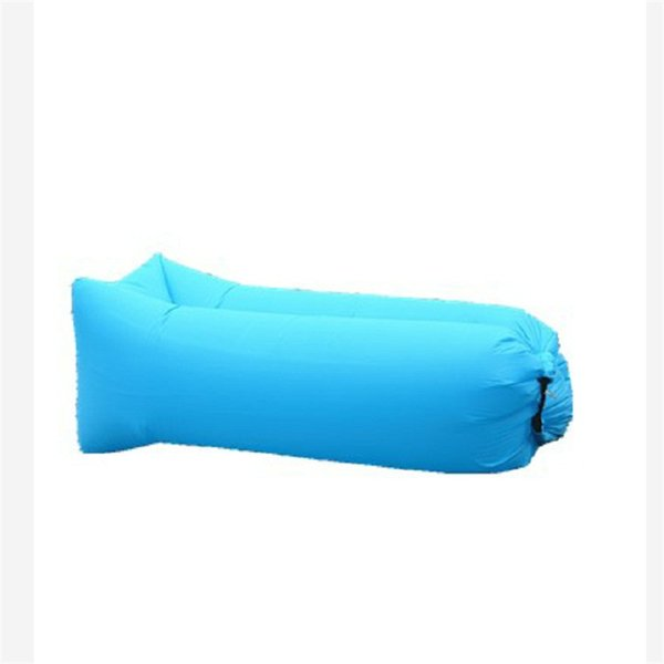 Amazing 2019 Foldable Inflatable Sofa Lazy Person Inflation Bed Chair Convenience Water Proofing Blue Brown Oxford Cloth Quick Drying 25Qj C1 From Hehong1966 Gamerscity Chair Design For Home Gamerscityorg