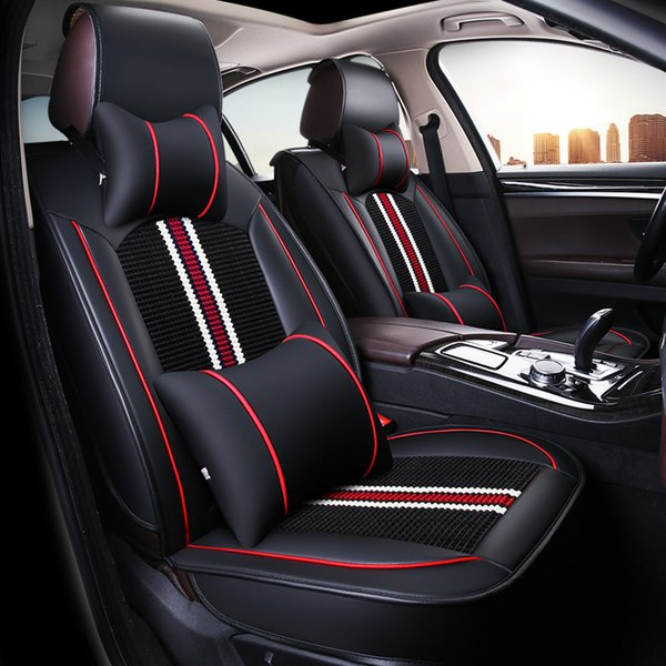 Universal Car Seat Covers Fit Most Car Covering old seats Decorate and protect seats Waterproof non-slip Car Seat Protector