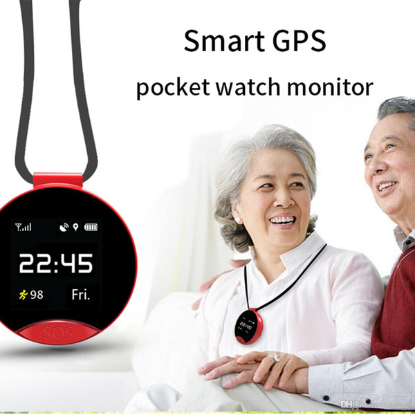 2018 ZGPAX The Latest S9 Smart GPS Positioning Pocket Watch Two-Way Call SOS Call For phone pocket watch Global GPS positioning DHL ship