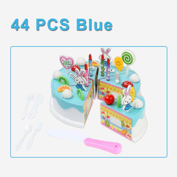 Color:44PCS BLUE