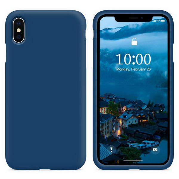 Силиконовый гель Чехол Silica Защитный чехол для iPhone X XS MAX XR Huawei P30 Pro Samsung Galaxy S10 Xiaomi 9 Redmi NOTE 7