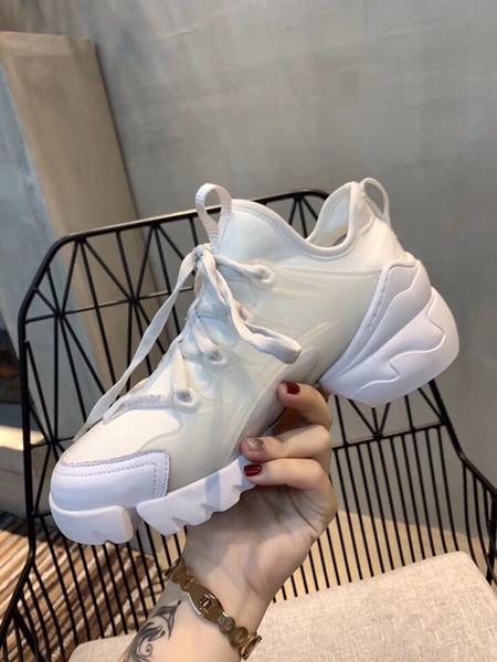 Moda tasarımcısı ayakkabı bayanlar kauçuk taban deri boy sneakers ucuz popüler elbise ayakkabı boyutu 35-40
