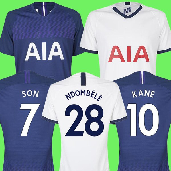 best selling Top thailand 19 20 NDOMBELE spurs soccer jersey 2019 2020 football jersey top kits KANE DELE Camiseta de futbol SON LUCAS maillot de foot
