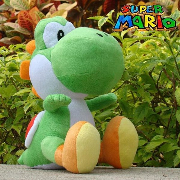 New Arrival Super Mario Bros Green Yoshi Stuffed Plush Toys 30cm Soft Stuffed Toys Doll With Tag For Children Retail 1pcsMX190925