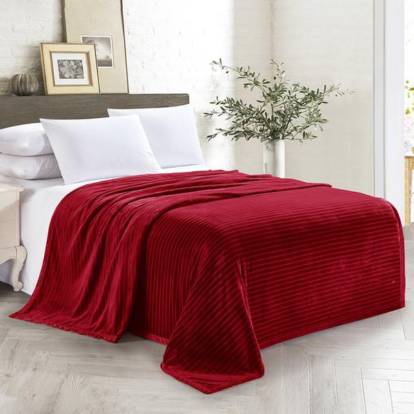 Wongsbedding Reddish brown orange light purple dark purple brown Soft Blanket Summer Quilt Duvet Queen Size Soft Throw Blanket