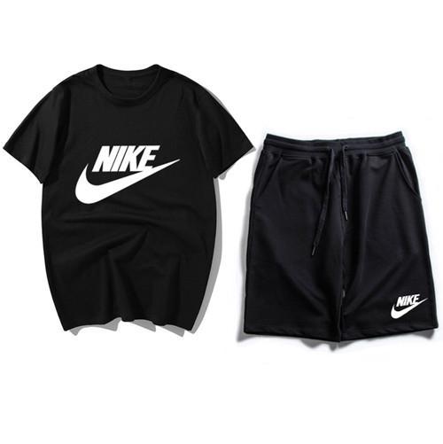 2019 summer new short-sleeved suit hip hop men's fashion trend luxury designer brand large size men's suit M-XXXL T-3
