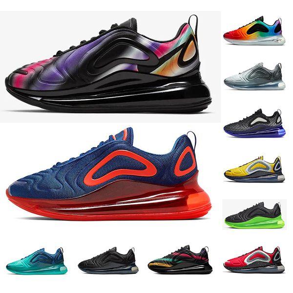 Nike air max 720 720s Nuevas zapatillas de deporte de para hombre mujer Pride negro atardecer Volt Northern Lights zapatillas de deporte para hombre zapatillas deportivas