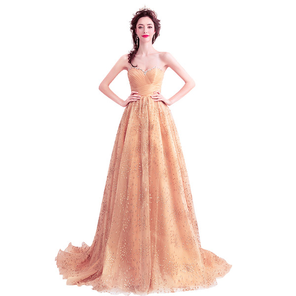 LPTUTTI Crystal Sequin New For Women Elegant Date Ceremony Party Prom Gown Formal Gala Events Luxury Long Evening Dresses