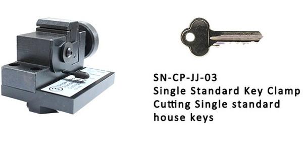 2019 I nuovi morsetti E9 a un solo lato per chiavi standard per il taglio di chiavi di casa standard SEC-E9 Completamente automatico per tagliare le chiavi