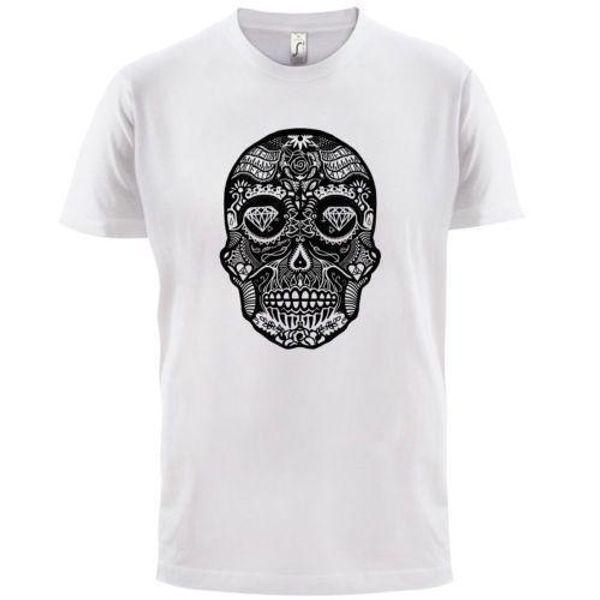 Mexcian Sugar Candy Skull - T-shirt Homme - Crâne en sucre / Crâne en sucre
