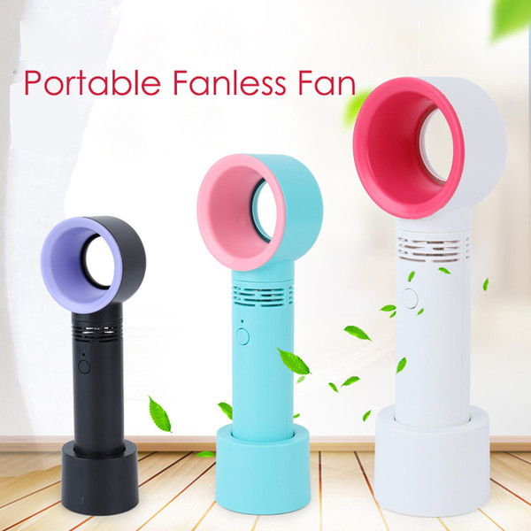 best selling Portable fanless fan Zero9 USB Bladeless Handheld Mini Cooler With 3 Fan Speed Level With retail package free shipping by DHL