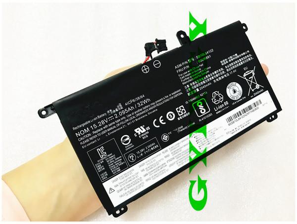 32Wh 15.4V Genuine 01AV493 00UR890 00UR891 00UR892 Laptop Battery For Lenovo ThinkPad T570 T580 P51S P52S SB10L84121