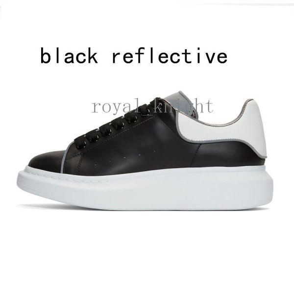 4 preto reflexivo branco 36-44