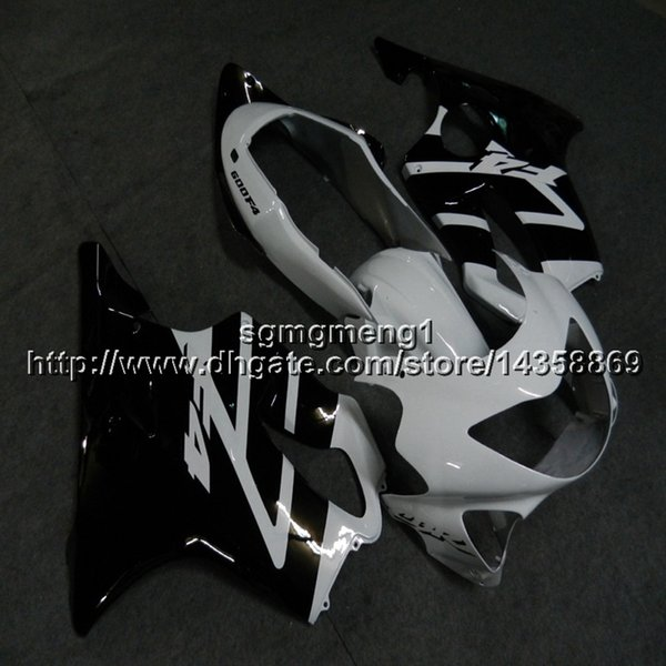 23colors+Botls Injection mold black white motorcycle cowl For Honda 00 CBR600F4 1999-2000 F4 99 00 CBR 600 ABS motor Fairing