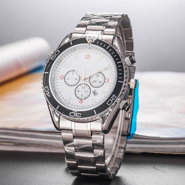OMG Мужские часы Оптовая Дешевые цены Мужчины Спорт наручные часы движение кварца Мужская мода Время подарков Часы Часы Sea Mas