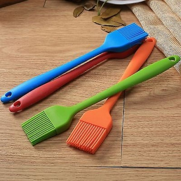 Baking Bbq Brush Bakeware Pastry Bread Oil Cream Cooking Silicone Random Color C19041501