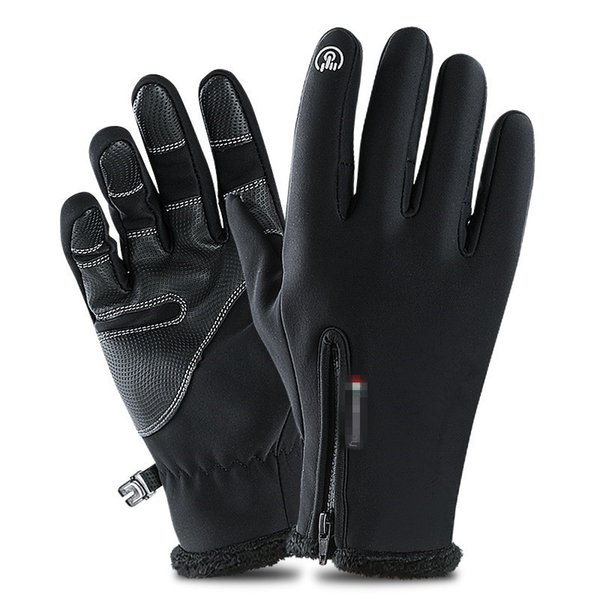 Outdoor Waterproof Snow Motorcycle Skiing Gloves Winter Thermal Ski Gloves Men Women Kids Fleece Touch Screen Snowboard Gloves