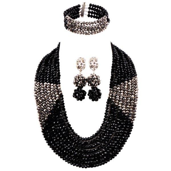 Metal color:Black Silver