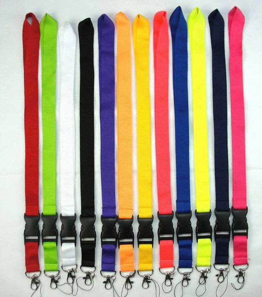 top popular 500 styles wholesale new popular! sports Lanyard Keychain Key Chain ID Badge cell phone holder Neck Strap 10pcs 2021