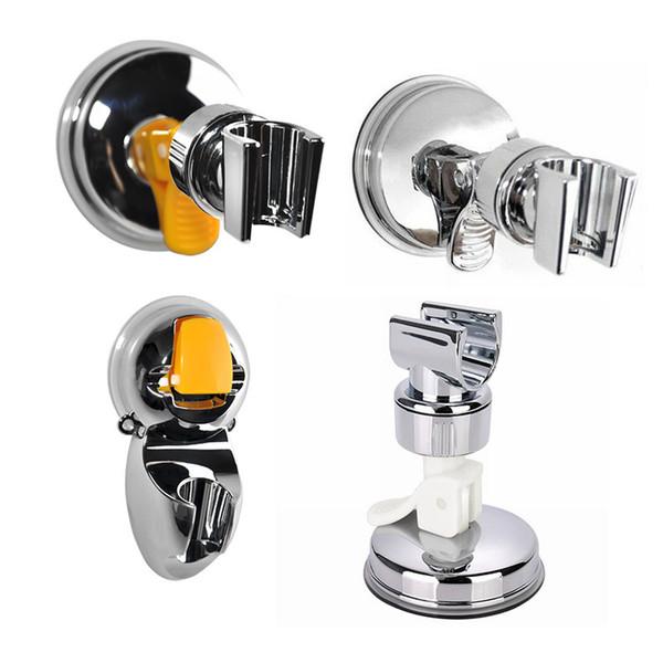 Strength Sucker Shower Support Hooks Plastic Anticorrosive Anti Wear Silvery Plug Rack Bathroom Accessories Hot Sale 5 3ch E1