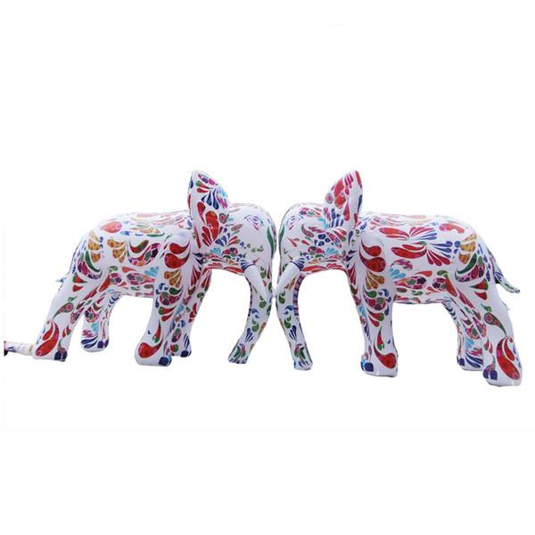 Éléphant gonflable jouet coloré éléphant gonflable dessin animé modèle d'éléphant géant pour la publicité KKA7026