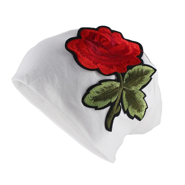 Designer Pregnant Women Cap Turbano Winter Cap Embroidery Flowers Womens Winter Hats Discount Beanie Hats Girls Wool Hat Cool caps