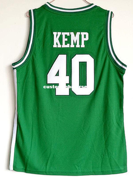 Cheap wholesale Shawn Kemp 40 Concord Minutemen High School Stitched Jersey Customize any name number MEN WOMEN YOUTH basketball jersey
