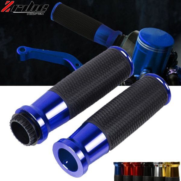 Motorcycle handle grips racing handlebar grip For KYMCO DownTown 350 300i Xciting 250 250T 300 300T 400 500RI S400 K-XCT