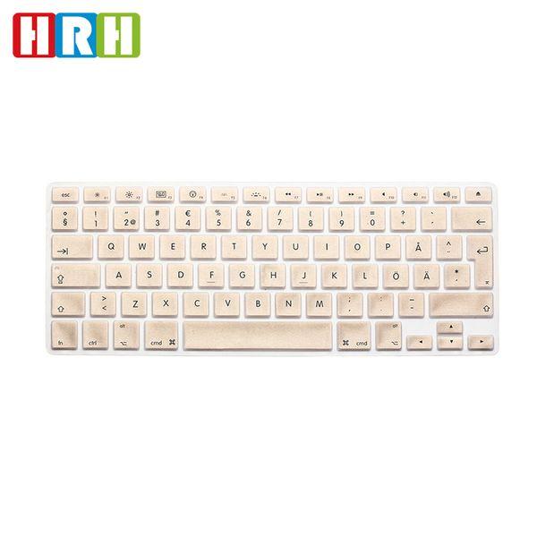 EU/UK Waterproof Swedish Language Silicone Keyboard Cover Keypad Skin Protective Film For Mac Book Pro Air Retina 13 15 17