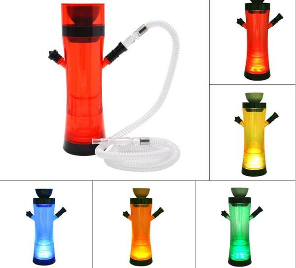 Nueva lámpara de banda de color de tubo de agua acrílica