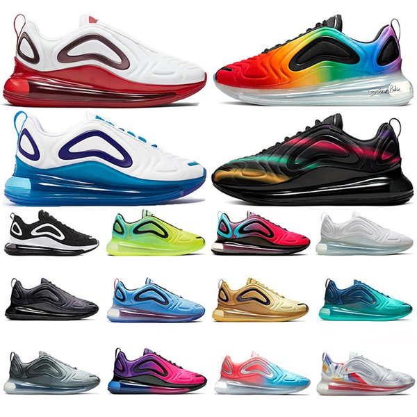 Top Fashion BE TRUE Volt Black White Sea Forest mens women running shoes Northern Lights Day sunrise gold red trainers sports sneakers NIK