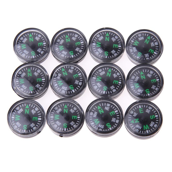 Lote de 20mm de 12pcs Mini Compasses al por mayor OK