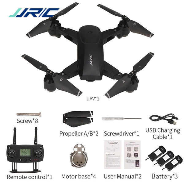 JJRC H78G 5G WiFi FPV Drone with 1080P Wide Angle HD Camera GPS Dual Mode Positioning Foldable Quadcopter RTF Professional Drone
