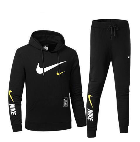 Free shipping fashion design Men's and women's sportswear fashion &#78IKE sports suit Men's hoodie sweatshirt jogging Apparel Runway Set