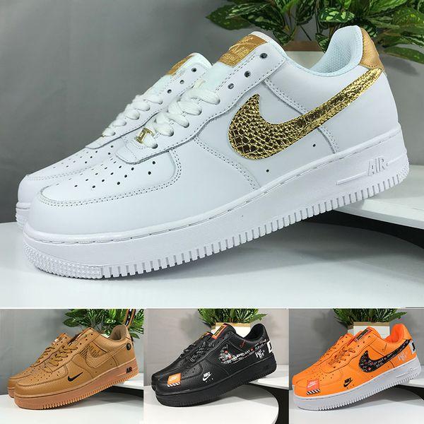 Nike air force 1 one off white Una almohadilla 1 zapatos al por mayor corriente obliga a 10X baja Airs para Hombres El Pure White entrenador deportivo zapatos de las mujeres de los