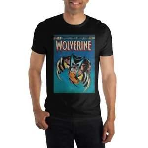Marvel Comics Limited Series Wolverine Claws Out Men's BlaWholesale T-Shirt Tee Shirt