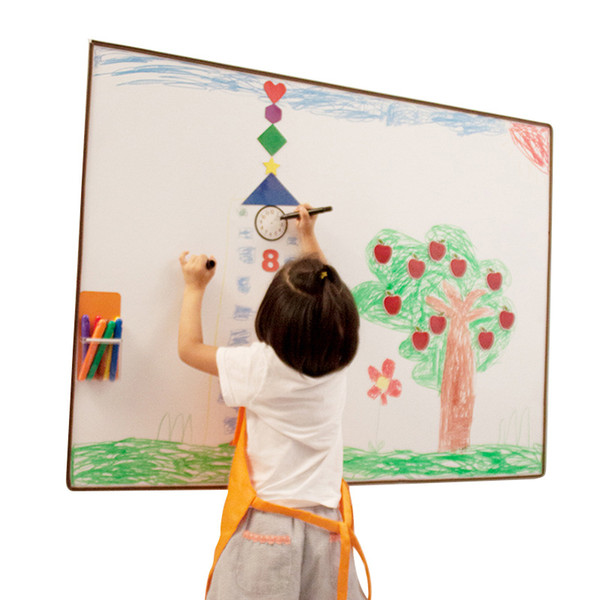 best selling 60*90cm Graffiti wall film Early education soft whiteboard children's drawing board set Magnetic board paint children toys gift