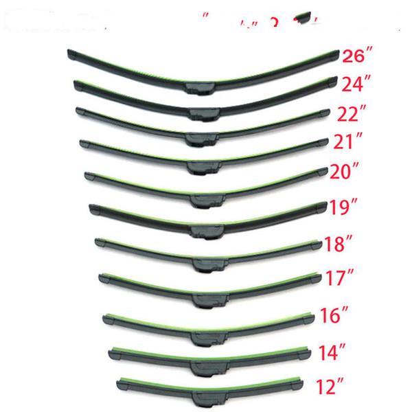 best selling Universal U type Soft Rubber Car Windshield Wiper Blade windshield wiper blades