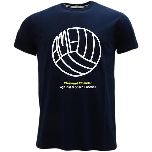 Camiseta de logotipo de futbolista de delincuente de fin de semana Wotsb001 Camiseta de orgullo casual fresca Hombres Unisex Nueva camiseta de moda Envío gratis Tops