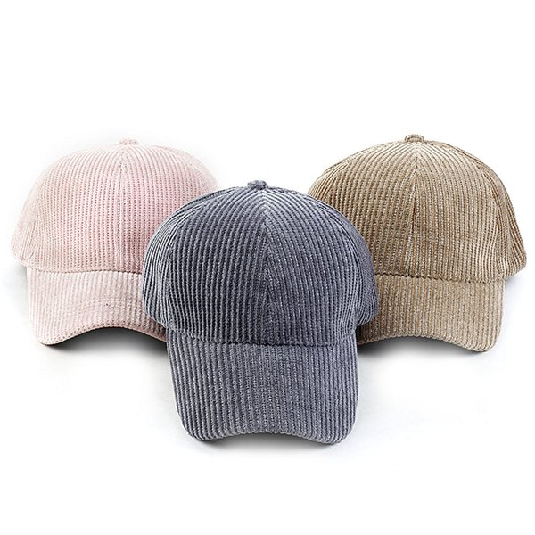 baseball caps hat for women men casual hat travel sport trucker cap solid color ribbed dad winter spring outdoor